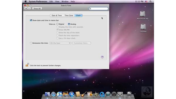 The Extras menu: Switching from Windows to Mac (2008)