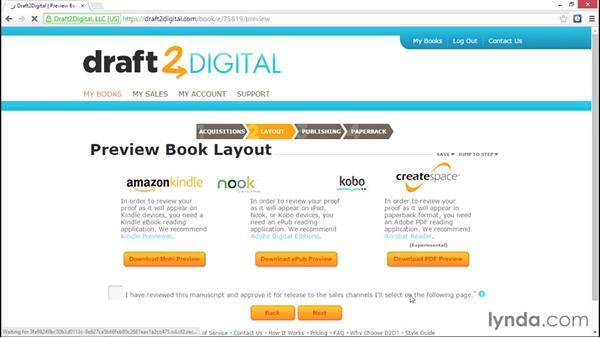 Uploading to Draft2Digital: Ebook Publishing Fundamentals