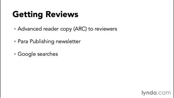 Getting reviews: Ebook Publishing Fundamentals