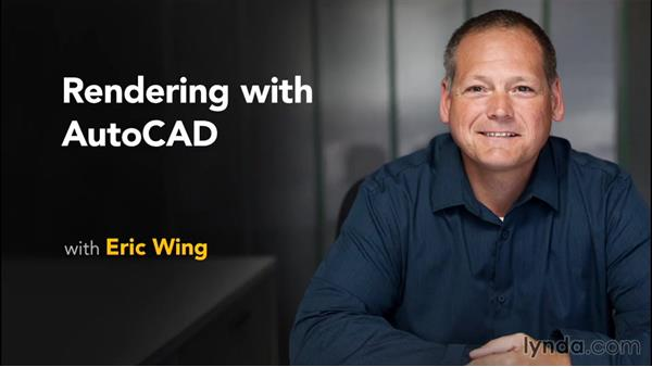 Next steps: Rendering with AutoCAD