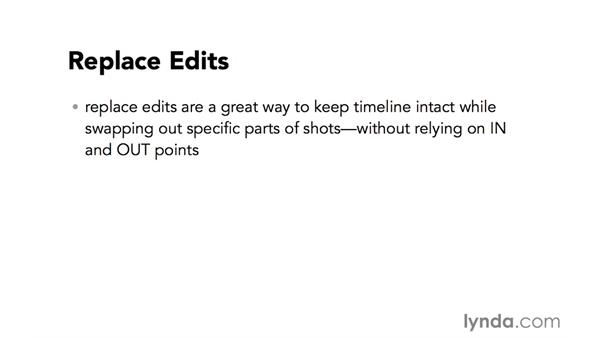 Introduction to replace edits: Video Post Tips Weekly