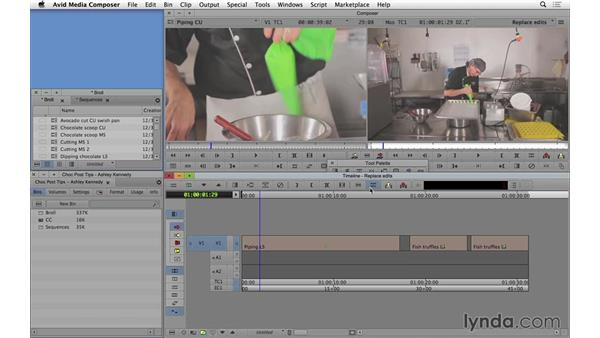 Performing replace edits in Avid Media Composer: Video Post Tips Weekly