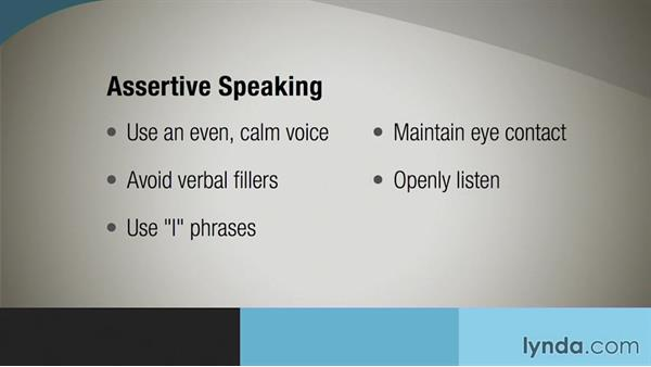 Communicating assertively: Communication Tips