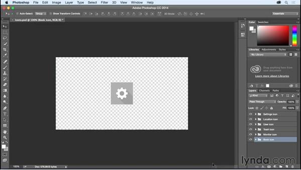 Saving retina graphics in Photoshop: Creating Retina Graphics with Photoshop and Illustrator