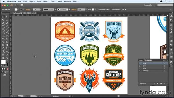 Challenge: Saving your retina graphics: Creating Retina Graphics with Photoshop and Illustrator