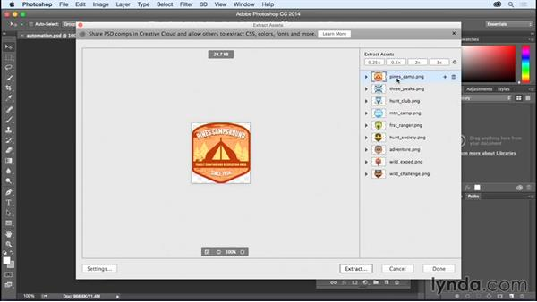 Extracting @2x assets in Photoshop: Creating Retina Graphics with Photoshop and Illustrator