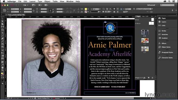 182 Start a document on a left-hand page: InDesign Secrets