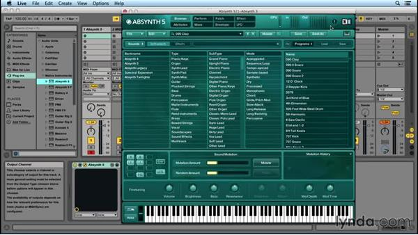 ABSYNTH basics: Up and Running with ABSYNTH 5