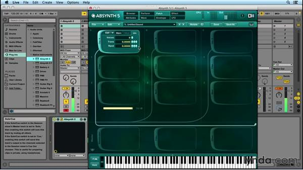 Oscillators and waveforms: Up and Running with ABSYNTH 5