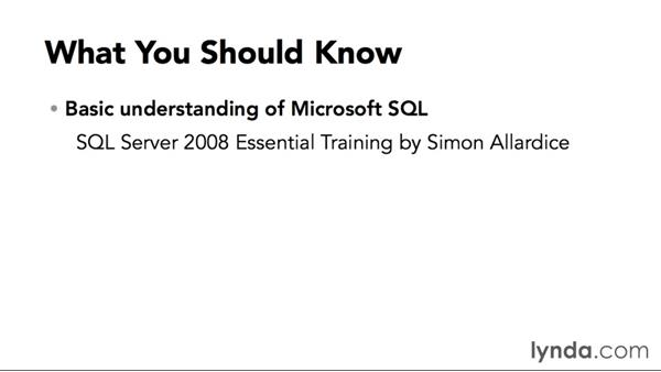 What you should know before watching this course: Designing Database Solutions for SQL Server 2012