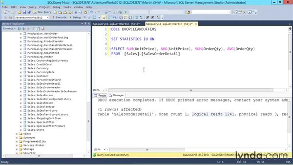Working with columnstore indexes: Designing Database Solutions for SQL Server 2012