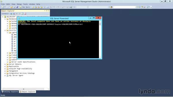 Introduction to Windows PowerShell: Designing Database Solutions for SQL Server 2012