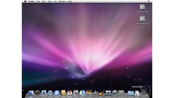 Getting settled into the interface: Mac OS X 10.5 Leopard Beyond the Basics