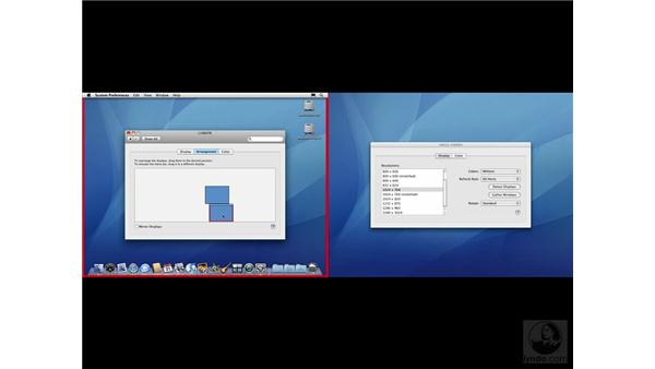 Configuring your display with the Displays system preference: Mac OS X 10.5 Leopard Beyond the Basics