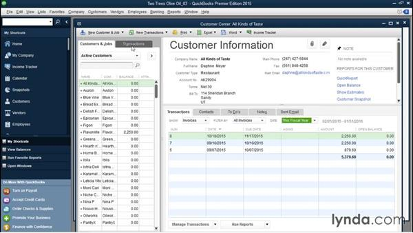 Searching in centers and lists: QuickBooks Desktop Tips and Tricks