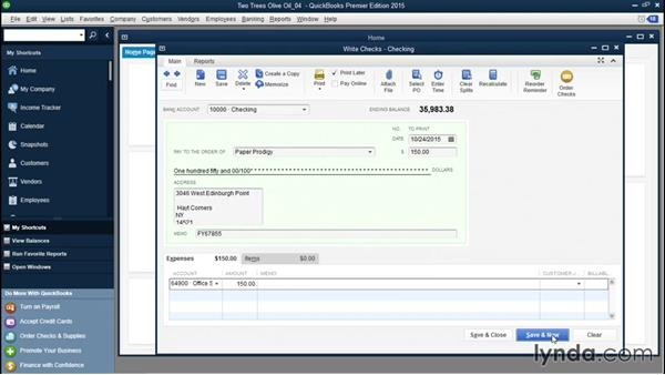 Numbering handwritten and printed checks: QuickBooks Desktop Tips and Tricks