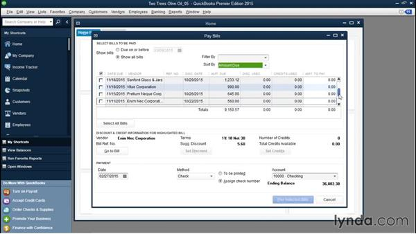 Sorting bills: QuickBooks Desktop Tips and Tricks