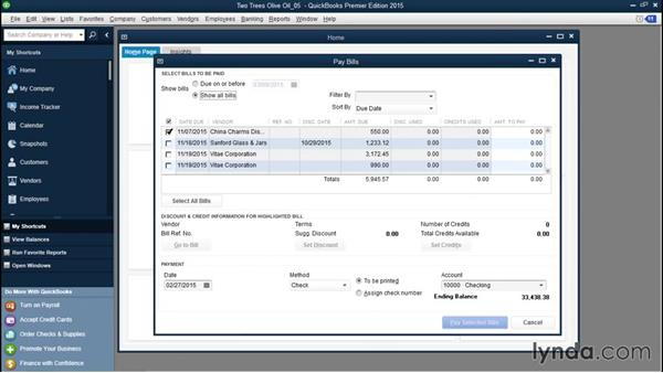Automatically applying discounts and credits to bills: QuickBooks Desktop Tips and Tricks