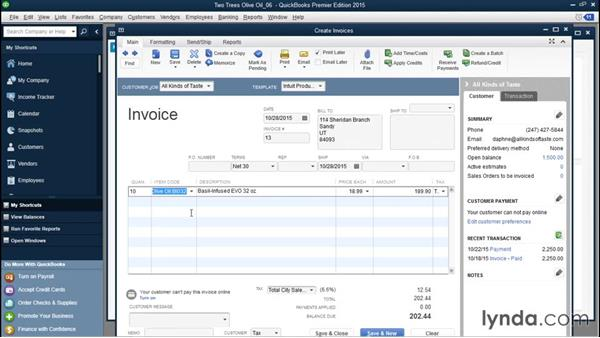 Using percentage-based items on invoices: QuickBooks Desktop Tips and Tricks