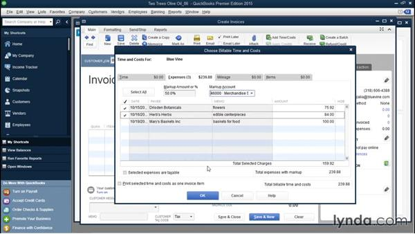 Applying markups to billable expenses: QuickBooks Desktop Tips and Tricks