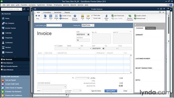 Creating a progress invoice for cost overruns: QuickBooks Desktop Tips and Tricks