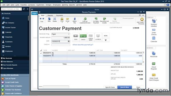 Choosing how QuickBooks applies payments to invoices: QuickBooks Desktop Tips and Tricks