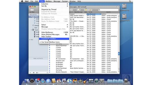 Organizing and viewing messages: Mac OS X 10.5 Leopard Beyond the Basics