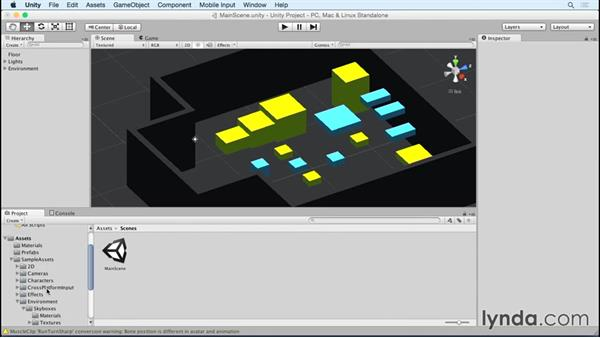 Importing assets from the Unity asset store
