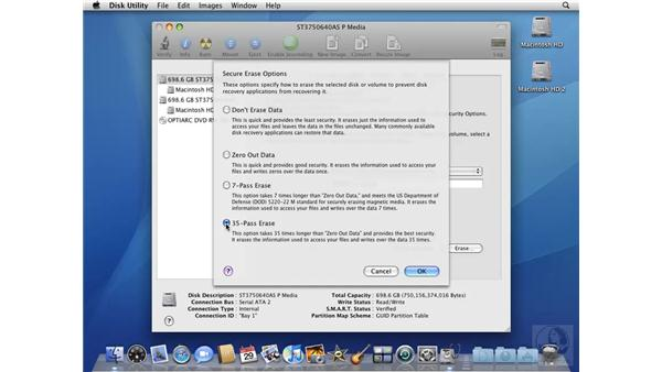 Formatting and partitioning with Disk Utility: Mac OS X 10.5 Leopard Beyond the Basics