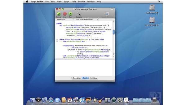 Automator essentials: Mac OS X 10.5 Leopard Beyond the Basics