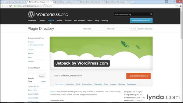 Roundup of plugins for this course: WordPress DIY: Weddings and Special Events