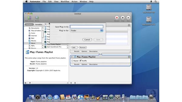 Playing songs randomly from iTunes: Mac OS X 10.5 Leopard Beyond the Basics
