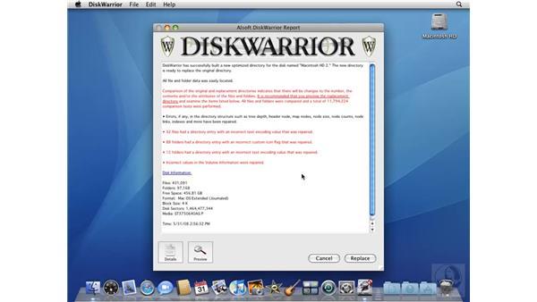 Using Disk Warrior: Mac OS X 10.5 Leopard Beyond the Basics