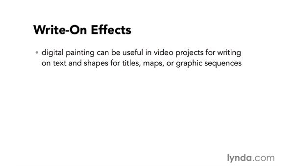 Introduction to writing on shapes and text in video: Video Post Tips Weekly