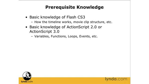 Knowledge prerequisites: Flash CS3 Professional: Creating Games for the Wii