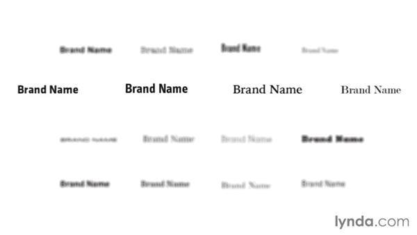 Making a wordmark: Foundations of Branding for Designers