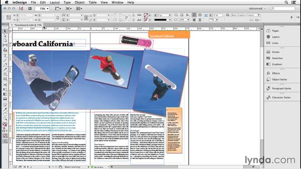 183 Borrowing preset art paths from Illustrator and Photoshop for fresh frame looks in InDesign: InDesign Secrets