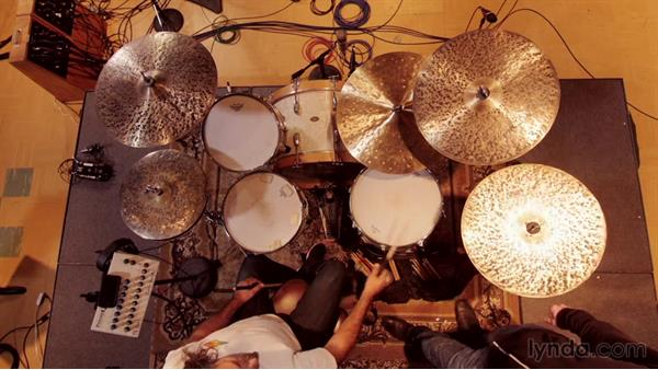 Choosing drums and cymbals within the context of the song: Drum Setup and Mic'ing in the Studio