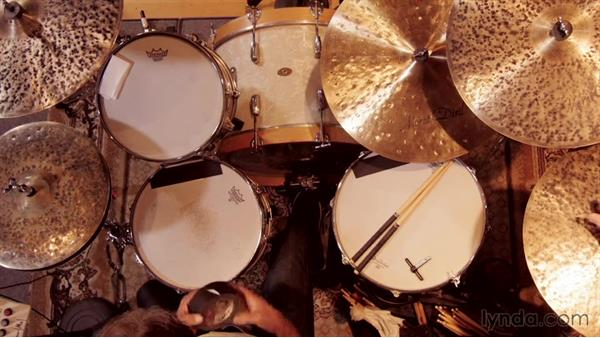 The proper tuning of the toms: Drum Setup and Mic'ing in the Studio