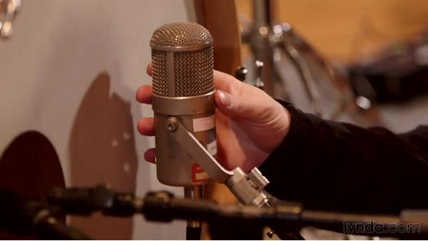 Mic'ing the kick drum inside and out: Drum Setup and Mic'ing in the Studio