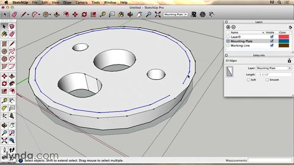 Bonus video: Technical details in SketchUp: 3D Modeling and Printing Household Parts