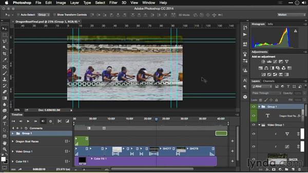 Before you export your video from Photoshop: Editing Video and Creating Slideshows with Photoshop CC