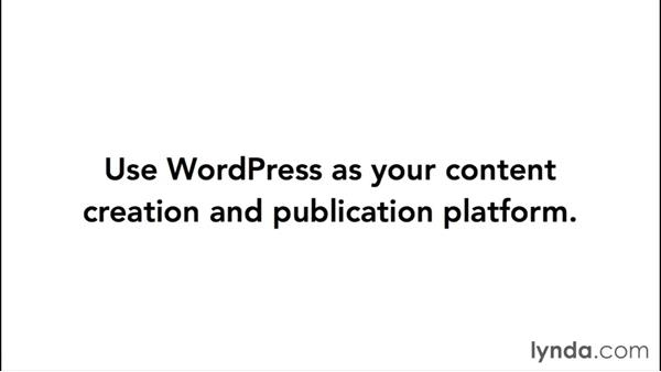 Publishing content to the staging server during development: WordPress Workflows