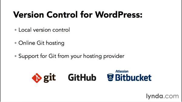 Using version control: WordPress Workflows