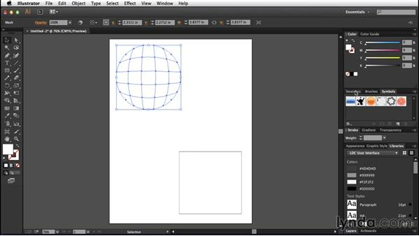 Creating your first mesh: Creating Gradient Meshes with Illustrator
