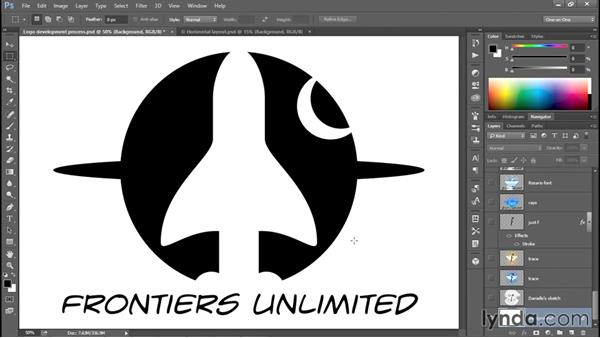 A brief tour of the logo development process: Creating and Adapting a Logo