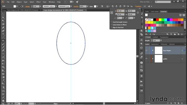 Numerical sizes and coordinate positions: Creating and Adapting a Logo