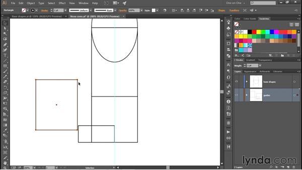 Establishing a few custom guides: Creating and Adapting a Logo