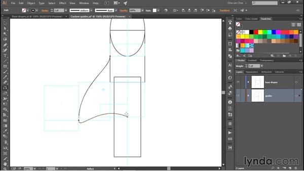 Creating an element as a compound shape: Creating and Adapting a Logo