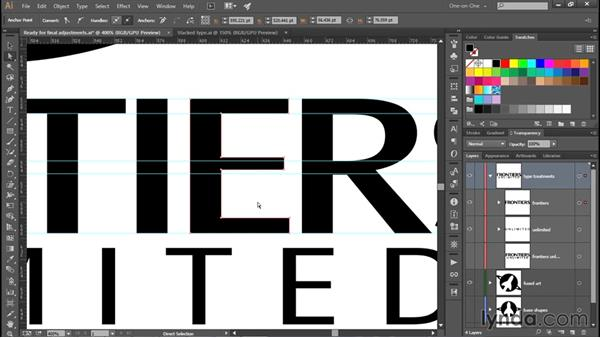 Tweaking letterforms to achieve a custom effect: Creating and Adapting a Logo